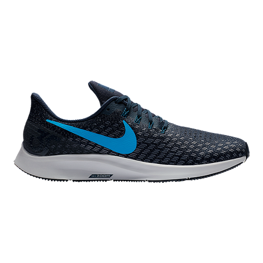 8a9bcd02deff2 Nike Men s Air Zoom Pegasus 35 Running Shoes - Blue Grey