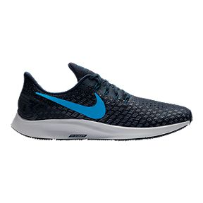 0c754a5ce1600 Nike Men s Air Zoom Pegasus 35 Running Shoes - Blue Grey