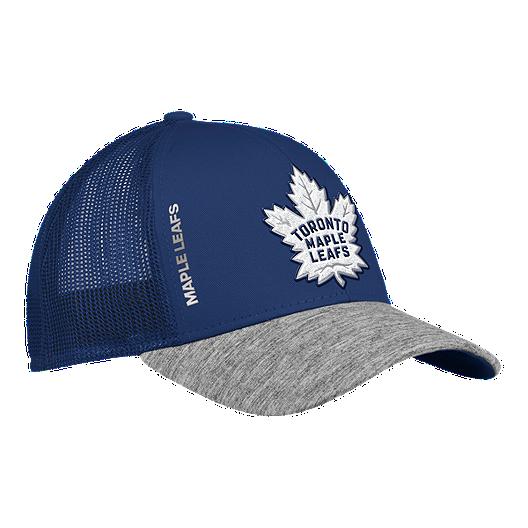 4b86d66bb29ed Toronto Maple Leafs adidas Start Of Season Structured Adjustable Hat ...
