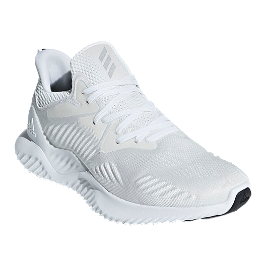 d8f07af72a71c adidas Men's Alphabounce Beyond Running Shoes - White/Silver