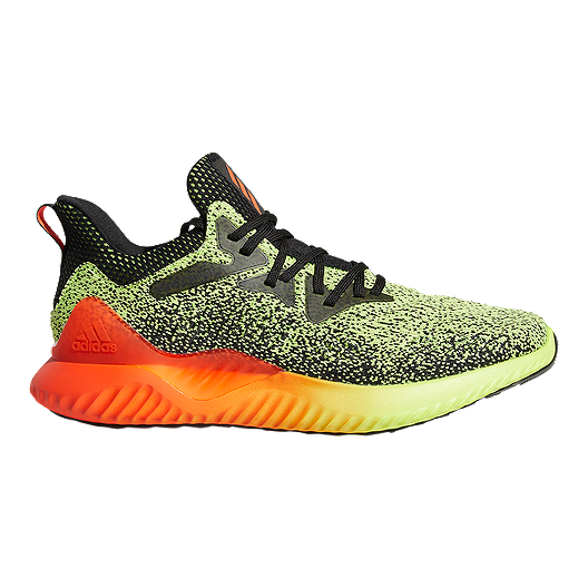 4274ab81c adidas Men s Alphabounce Beyond WC Running Shoes - Yellow Red Black ...