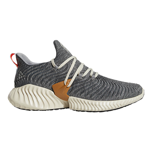 6637748f7f47b adidas Men s Alpha Bounce Instinct Running Shoes - Brown Black ...