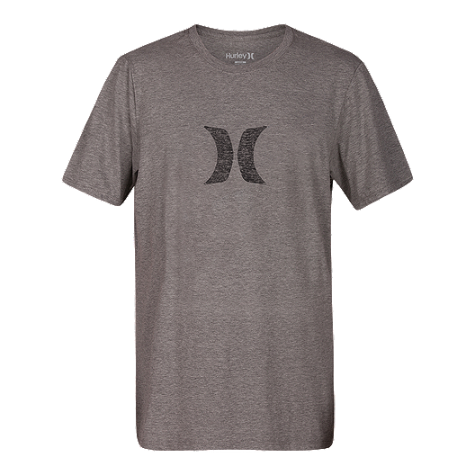 575a4a103eb Hurley Men s Icon Push Through T Shirt - Dark Grey