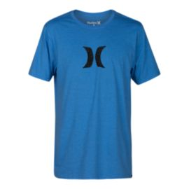Hurley Men's Icon Push Through T Shirt - Blue