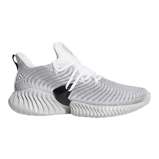 1420319b2362 adidas Men s Alphabounce Instinct Running Shoes - White Grey Black ...