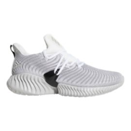 adidas Men's Alphabounce Instinct Running Shoes - White/Grey/Black