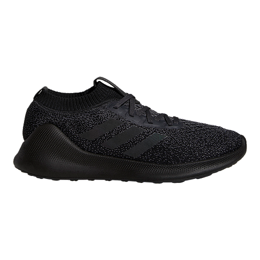 4540023ad75 adidas Men's Pure Bounce+ Running Shoes - Grey/Black - CARBON/CORE BLACK/