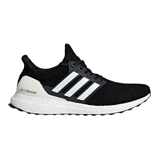 9577bbb9b adidas Men s Ultra Boost DNA Running Shoes - Black White Grey - CORE BLACK