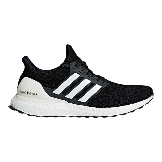 d80eb3610a7 adidas Men s Ultra Boost DNA Running Shoes - Black White Grey ...
