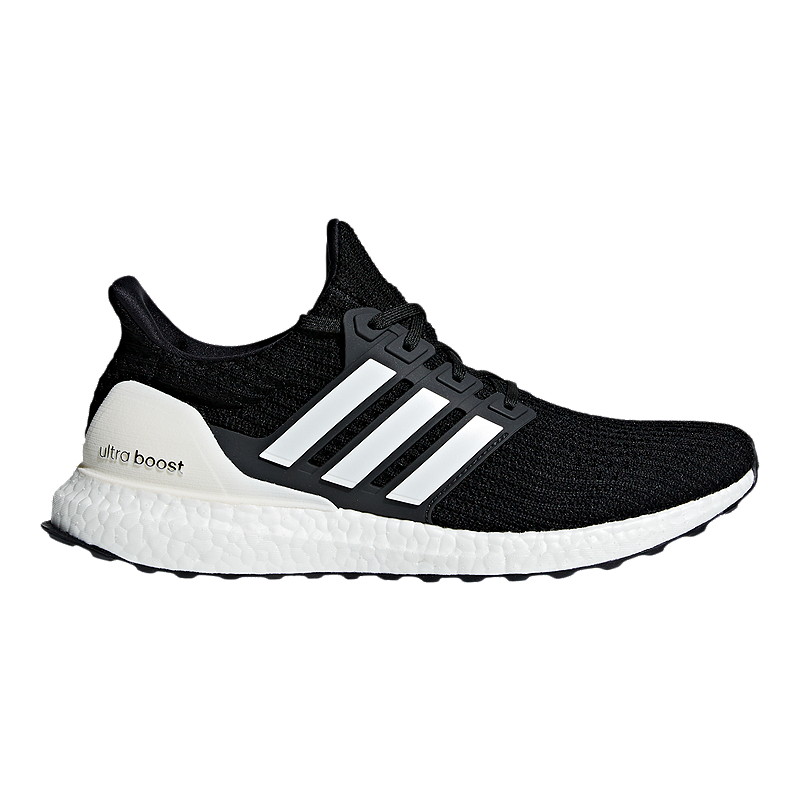 more photos bf7fd c1b25 adidas Mens Ultra Boost DNA Running Shoes - BlackWhiteGrey  Sport Chek