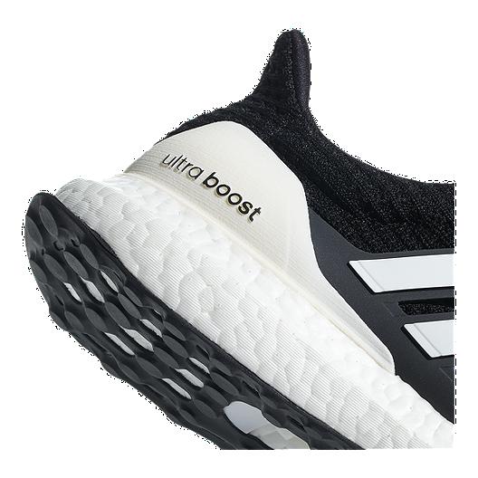 eea1b10ae adidas Men s Ultra Boost DNA Running Shoes - Black White Grey ...