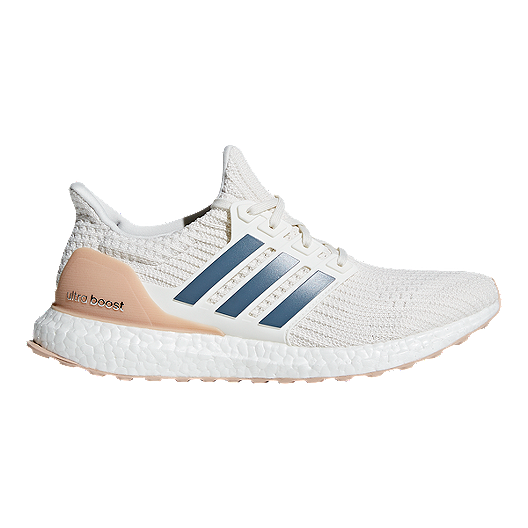a50f94196aaa6 adidas Men s Ultra Boost DNA Running Shoes - White Ink Grey