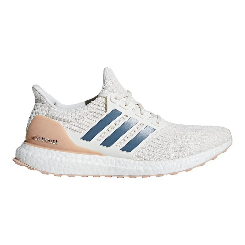 15ef8e5c101b adidas Men s Ultra Boost DNA Running Shoes - White Ink Grey