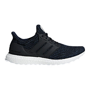 adidas Men's Ultra Boost Parley Running Shoes - Ink/Grey/Blue