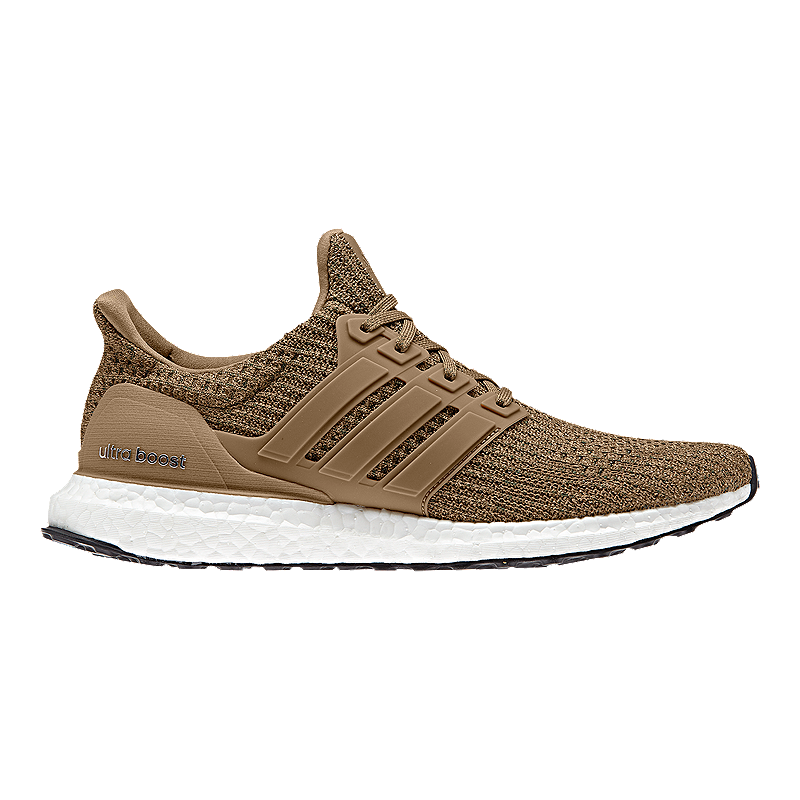 9ab98c987 adidas Men s Ultra Boost Wool Running Shoes - Brown