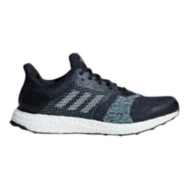 adidas Men's Ultra Boost ST Parley Running Shoes - Ink/Mint/Aqua