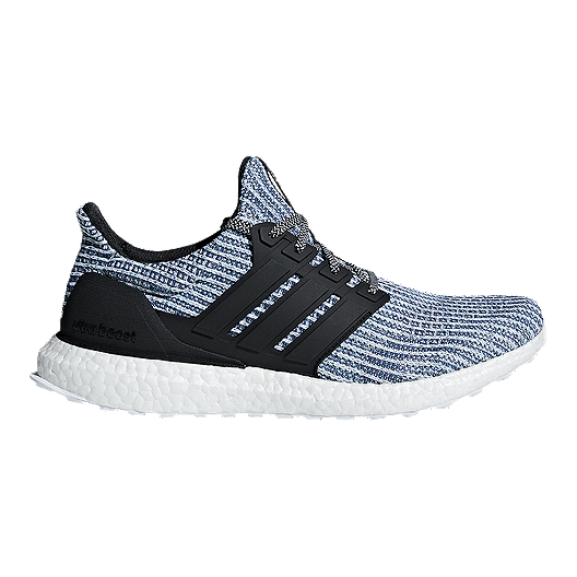 6c78bda92 adidas Men s Ultra Boost Parley Running Shoes - White Grey Blue ...