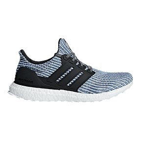sports shoes 426d9 9d083 adidas Men s Ultra Boost Parley Running Shoes - White Grey Blue