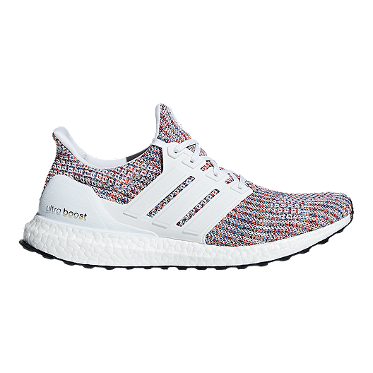 sale retailer 319e5 61ee6 adidas Men's Ultra Boost Running Shoes - White/Navy | Sport Chek