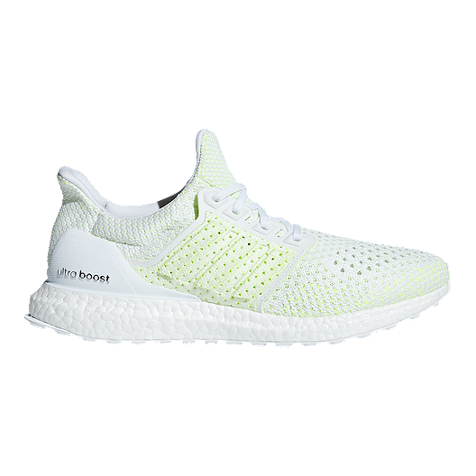 24678bbbf adidas Men s Ultra Boost Clima Running Shoes - White Yellow