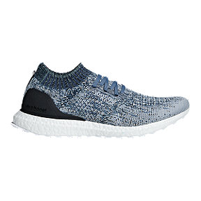adidas Men's Ultra Boost Uncaged Parley Running Shoes - Grey/Blue