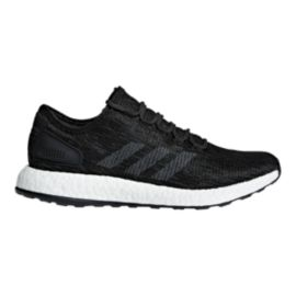 adidas Men's Pure Boost Running Shoes -  Black/Grey/Grey