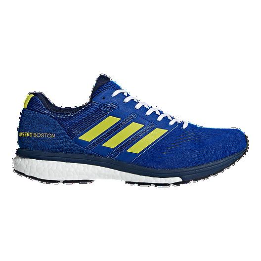 adidas Mens adizero Boston 7 Running Shoes Trainers Road Breathable Lightweight