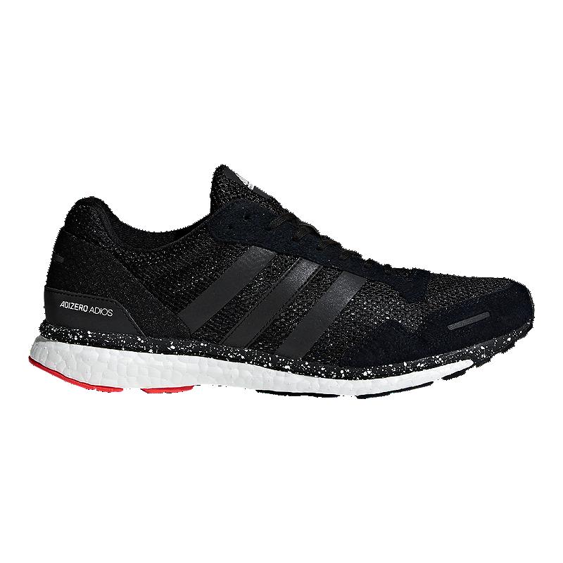 a0881df239 adidas Men's Adizero Adios 3 Running Shoes - Red/Black/Blue | Sport Chek