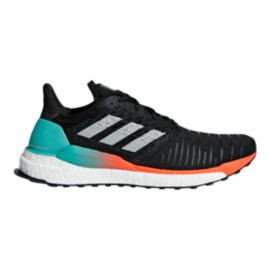 adidas Men's Solarboost Running Shoes - Black/Grey/Aqua