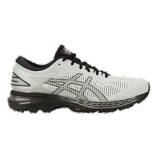 low priced c8083 580a2 ASICS Men's GEL-Kayano 25 2E Running Shoes - Grey/Black