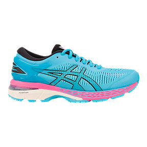ASICS Women's Gel Kayano 25 Running Shoes - Blue/Black