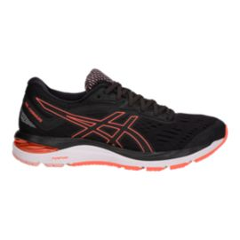 ASICS Women's GEL-Cumulus 20 Running Shoes - Black/Flash Coral