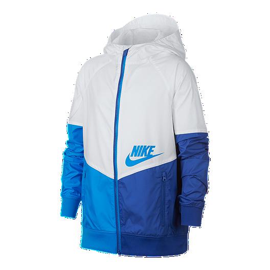1c23f5b507fd Nike Sportswear Boys  Windrunner Full Zip Wind Jacket