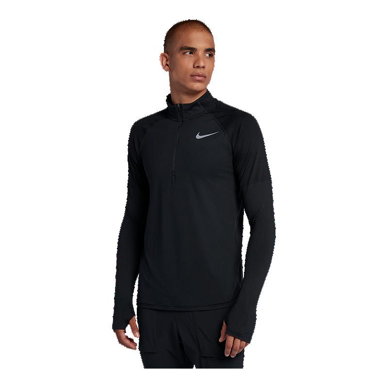Nike Mens Element 1//2 Zip Running Top Shirt