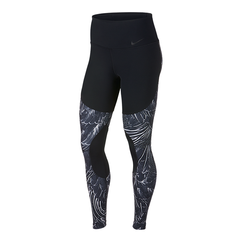 sale retailer f77ba aa221 Nike Women s Power Flutter Printed Tights   Sport Chek