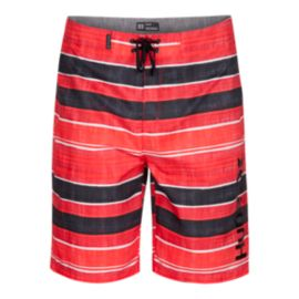 Hurley Men's La Fonda 21 Inch Boardshorts - Red