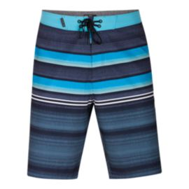 Hurley Men's Phantom Blackball Orange Street 20 Inch Boardshorts - Obsidian