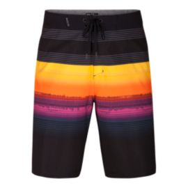 Hurley Men's Phantom Gaviota 20 Inch Boardshorts - Black