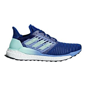 new product 3253d 8e976 adidas Women s Solar Boost Running Shoes - Mystery Ink Clear Mint