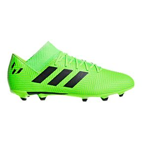 hot sale online 84e1d e89c7 adidas Mens Messi Nemeziz 18.3 FG Outdoor Soccer Cleats - Solar GreenBlack