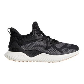 info for 37522 86713 adidas Women s Alpha Bounce Beyond Running Shoes - Black White