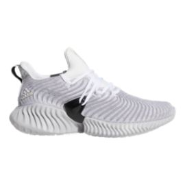 adidas Women's Alphabounce Instinct Running Shoes - White/Grey/Black