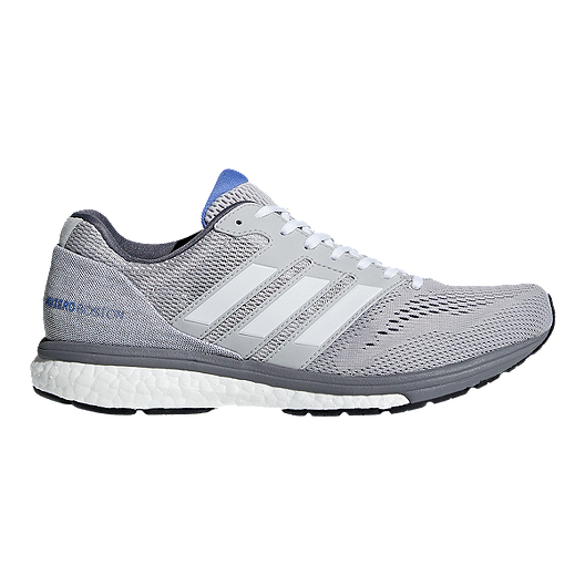 113009ad6 adidas Women s Adizero Boston 7 Running Shoes - Grey White
