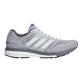 5938256bb4 adidas Women's Adizero Boston 7 Running Shoes - Grey/White