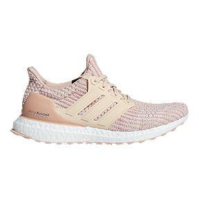 timeless design 33179 2a823 adidas Womens Ultra Boost Running Shoes - Nude AshPearlLinen