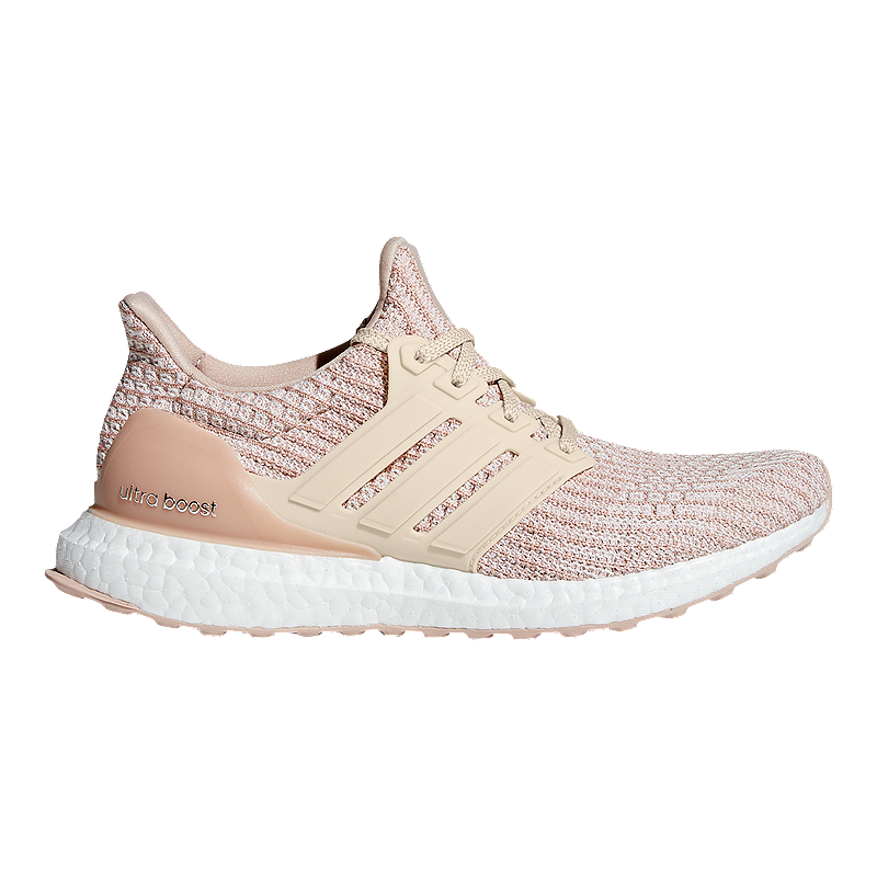 low priced 5edb8 19657 adidas Women s Ultra Boost Running Shoes - Nude Ash Pearl Linen   Sport Chek