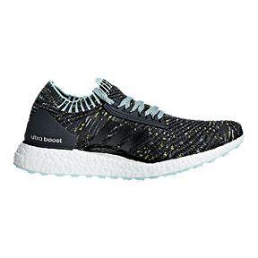 e102d945e792 adidas Women s Ultra Boost X Running Shoes - Grey White Blue