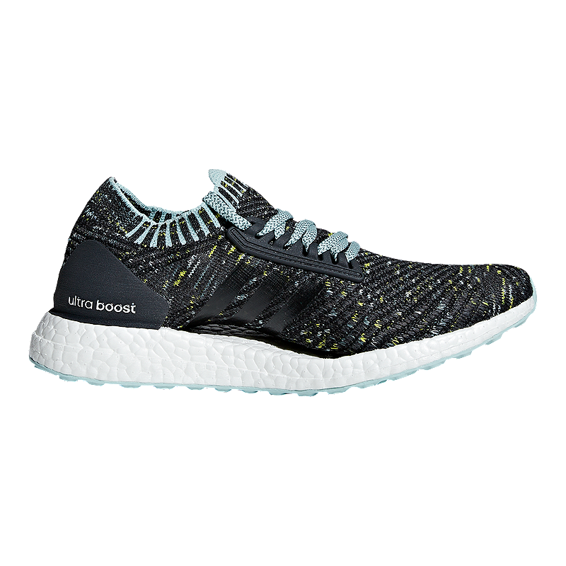663150a6941 adidas Women s Ultra Boost X Running Shoes - Grey White Blue