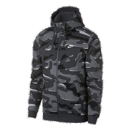 5f6f78913530 Nike Sportswear Men s Club Camo Full Zip Hoodie