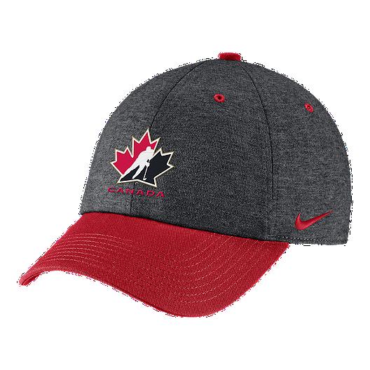 release date: 784e9 2b8bd Team Canada Nike H86 Heather Cap - Red   Sport Chek
